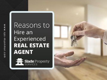 Reasons to Hire a Real Estate Consultant in Yangon