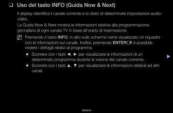 """Samsung TV 40"""" Full HD Flat J5100 Serie 5 - User Manual_0.01MB, pdf, ITALIAN"""