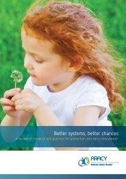Better-systems-better-chances