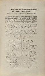 De eerste vergadering van Provinciale Staten van Noord-Holland