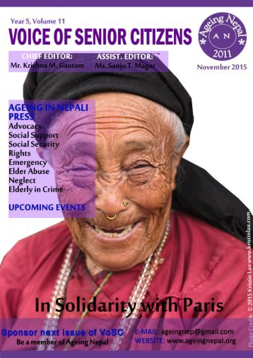 AGEING IN NEPALI PRESS