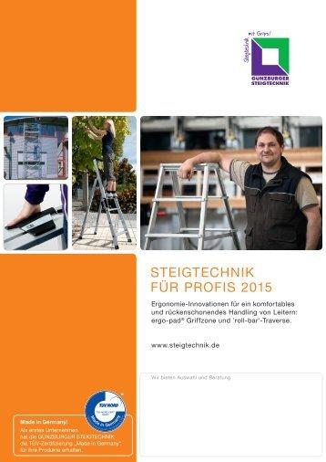 Günzburger Steigtechnik 2015