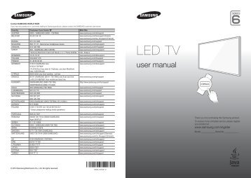 "Samsung TV 55"" Full HD Curvo Smart H6800 Serie 6 - Quick Guide_10.38 MB, pdf, ENGLISH, GERMAN, ITALIAN"