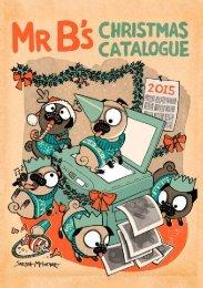 Welcome Mr B's Christmas Catalogue!