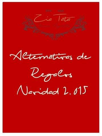 Zia Tata Regalos - Catalogo Navidad 2015
