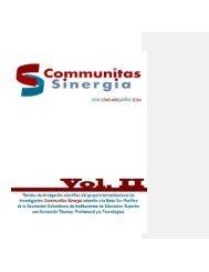 Revista Comunitas Sinergia No. 2 v5