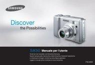 Samsung S830 - User Manual_6.99 MB, pdf, ITALIAN