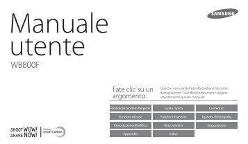 Samsung WB800F - User Manual_9.88 MB, pdf, ITALIAN