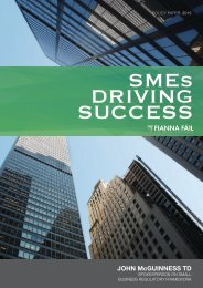 SMEs DRIVING SUCCESS