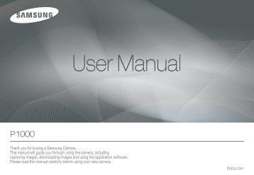 Samsung P1000 - User Manual_8.24 MB, pdf, ENGLISH