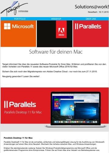 Software für deinen Mac
