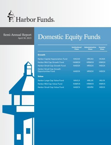 Domestic Equity Funds