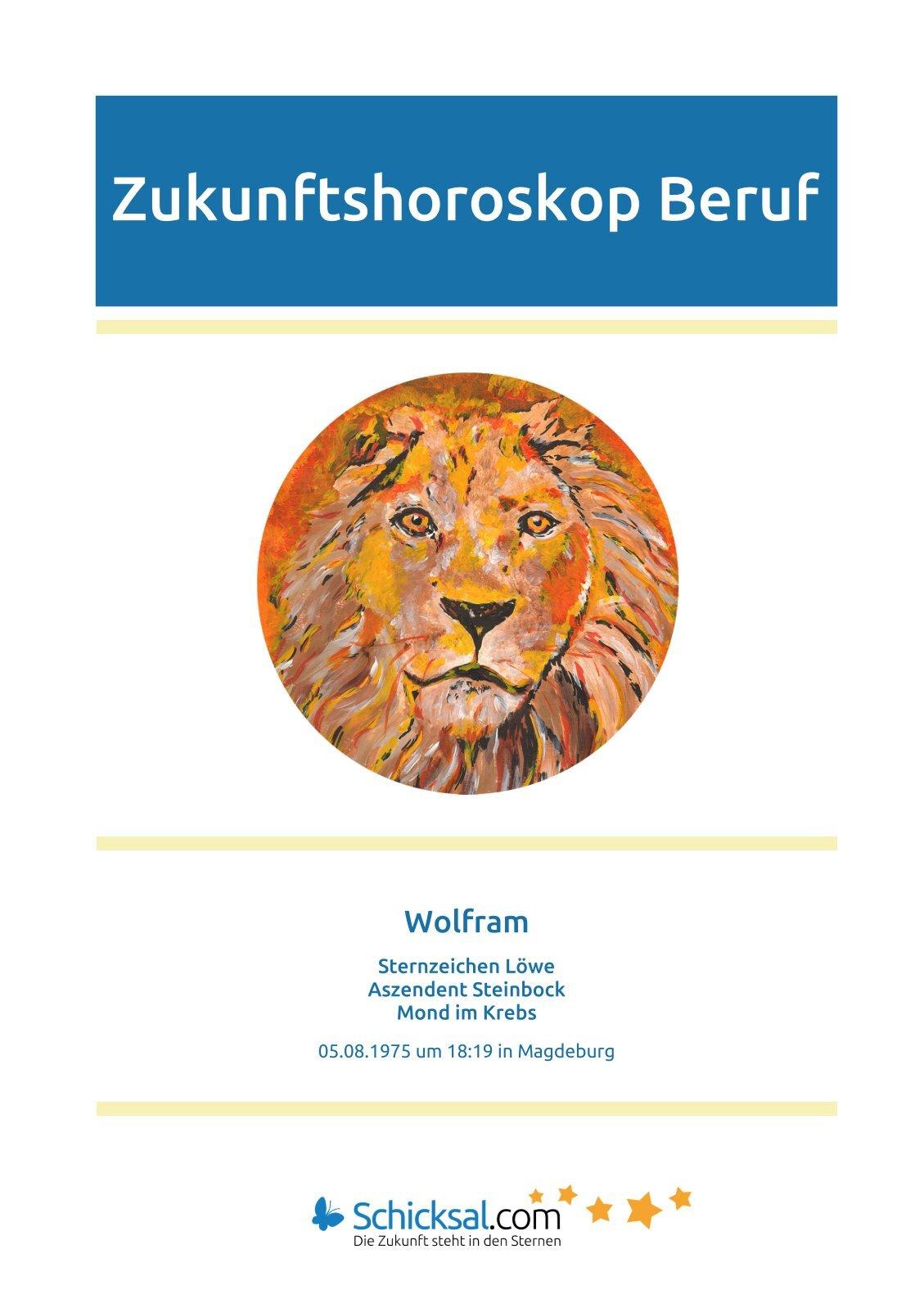 Löwe  - Horoskop Zukunft Beruf + Karriere