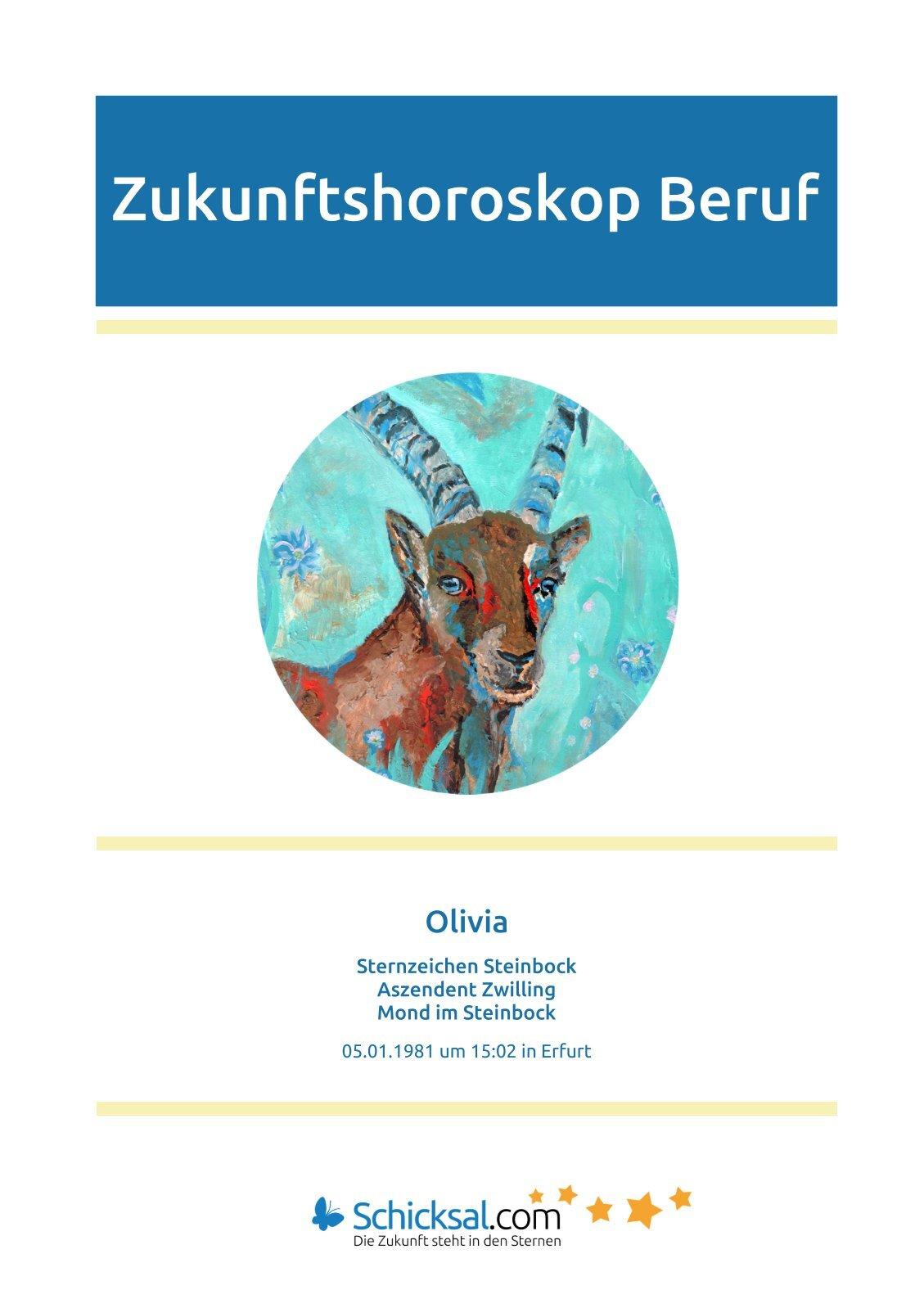 Steinbock - Horoskop Zukunft Beruf + Karriere