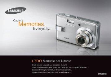 Samsung L700 - User Manual_8.65 MB, pdf, ITALIAN