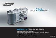 Samsung DIGIMAX S700 - User Manual_8.04 MB, pdf, ITALIAN
