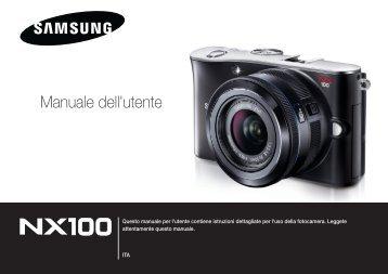 Samsung NX100 - User Manual_7.34 MB, pdf, ITALIAN