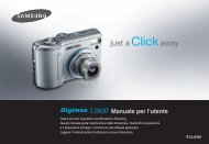 Samsung DIGIMAX S1000 - User Manual_8.35 MB, pdf, ITALIAN