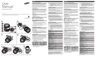 Samsung 16-50 mm F2-2.8 S ED OIS Professional Standard Lens - User Manual_0.01MB, pdf, ENGLISH, FRENCH, SPANISH