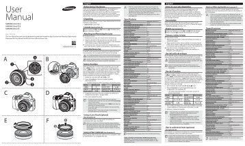 Samsung 16 mm F2.4 Ultra Wide Prime Lens - User Manual_0.01MB, pdf, ENGLISH, FRENCH