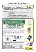 Programmierbare Hauptuhr - Seite 2