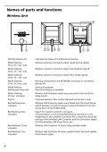 Sony PCWA-DE30 - PCWA-DE30 Istruzioni per l'uso Francese - Page 7