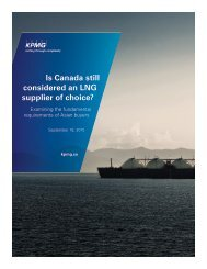 Is Canada still considered an LNG supplier of choice?