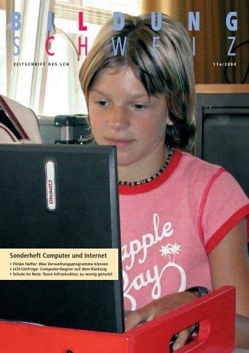 Sonderheft Computer und Internet - beim LCH