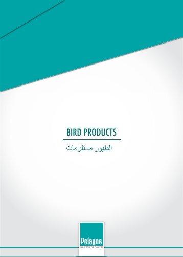 Kuş Malzemeleri Katalogu 2015