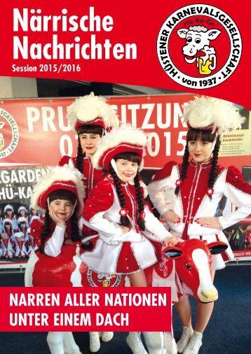 Närrische Nachrichten 2015/2016