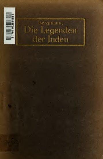 Die Legenden der Juden