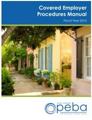Covered Employer Procedures Manual