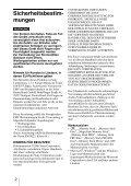 Sony MRW62E-T2 - MRW62E-T2 Istruzioni per l'uso Tedesco - Page 2