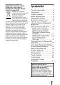 Sony MRW62E-S2 - MRW62E-S2 Istruzioni per l'uso Turco - Page 3