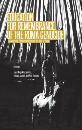FOR REMEMBRANCE OF THE ROMA GENOCIDE