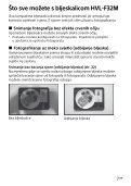Sony HVL-F32M - HVL-F32M Istruzioni per l'uso Croato - Page 7