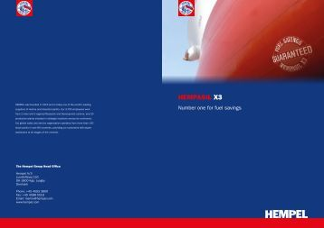 Download the HEMPASIL X3 brochure - hempel