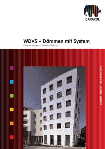 WDVS – Dämmen mit System - Caparol