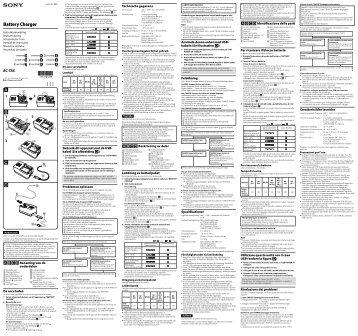 Sony BC-TRX - BC-TRX Istruzioni per l'uso Svedese