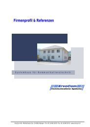2 Referenzen - Ervocom - Communications Systems
