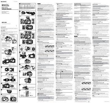 Sony MPK-WH - MPK-WH Istruzioni per l'uso Spagnolo