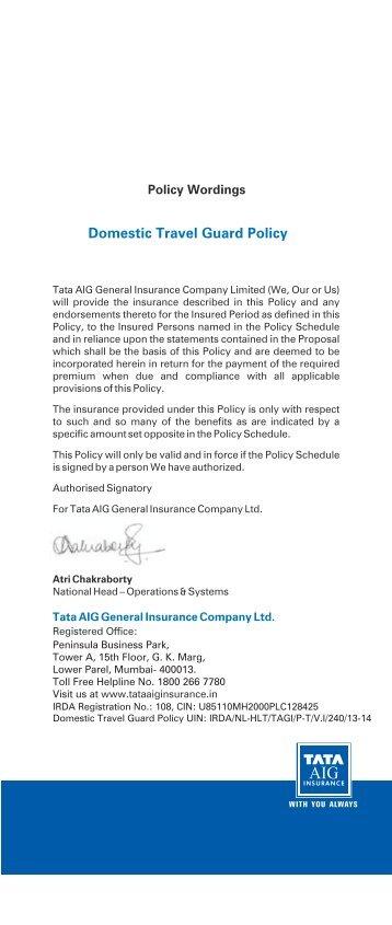 Tata Aig Car Insurance Claim Status