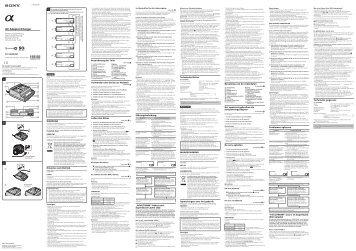 Sony AC-VQ900AM - AC-VQ900AM Istruzioni per l'uso Tedesco