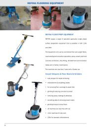 REFINA FLOORING EQUIPMENT