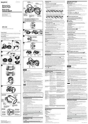 Sony SPK-CXA - SPK-CXA Istruzioni per l'uso Spagnolo