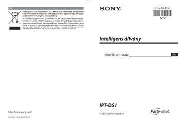 Sony IPT-DS1 - IPT-DS1 Istruzioni per l'uso Ungherese