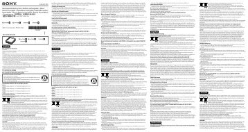 Sony NP-BN1 - NP-BN1 Istruzioni per l'uso Ungherese