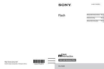 Sony HVL-F60M - HVL-F60M Istruzioni per l'uso Svedese