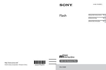 Sony HVL-F60M - HVL-F60M Istruzioni per l'uso Portoghese
