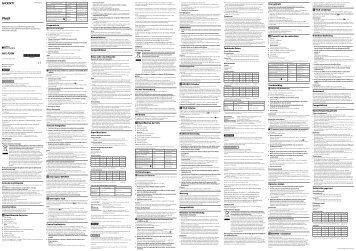 Sony HVL-F20M - HVL-F20M Istruzioni per l'uso Portoghese